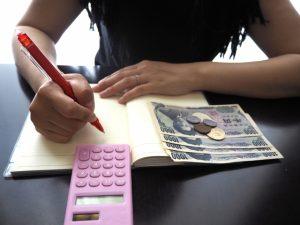 帳簿,お金の計算